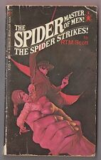 The Spider #1 The Spider Strikes RTM Scott Berkley X1735 1969