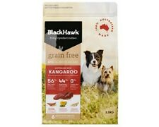 Black Hawk Grain Free Kangaroo Dog Food Bones Muscles 2.5kg (DBHGFK2.5)