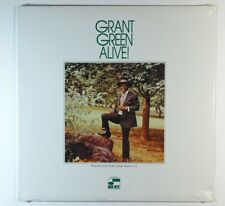 GRANT GREEN Alive! LP on Blue Note Sealed reissue