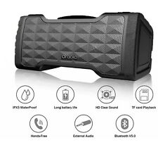 Portable Wireless Bluetooth Speaker Super Bass Stereo HD Sound Waterproof 20HRs