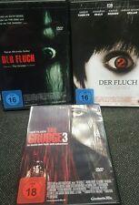 The Grudge - Der Fluch 1-3 - Sarah Michelle Gellar - 3 Dvd´s