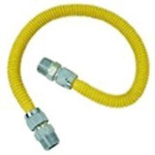 "Brass Craft Cssd54-18 Gas Appliance Connector, 1/2"" X 1/2"" X 18"""