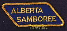 LMH PATCH Badge  ALBERTA SAMBOREE  Rally RV Meeting GOOD SAM CLUB Canada Camping