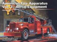 Squadron 6402 American Fire Apparatus Vol. 2 - Aerial Equipment Free Shipping