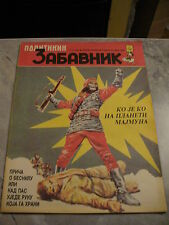 Politikin Zabavnik - Planet Of The Apes On Cover Page And Comic Book