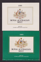 1985 Australia UNC Uncirculated Set lots Mint Coins only in this year