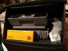 Kodak Ektagraphic III B Slide Projector Focusing Remote & 80 Slide Tray