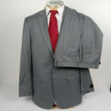 NWT Jos A Bank Slim Fit Gray Wool Men's Suit 42L 37 #1