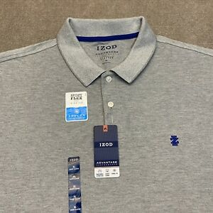 IZOD Advantage Performance Polo Shirt Cool FX Cooling Technology Size XL Men's