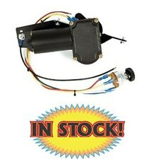 New Port NE4956PKD - 1949 Late to 56 Packard Rectangle Wiper Motor