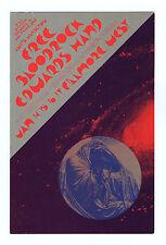 Bill Graham 266 Postcard Ad Back Free Bloodrock 1971 Jan 14