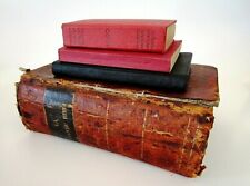 Antique French Bible 1851 - Small Parish Manual - New Testament - Dictionary