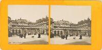 FRANCE Paris Le Palais Royal, Photo Stereo Vintage Argentique PL62L10