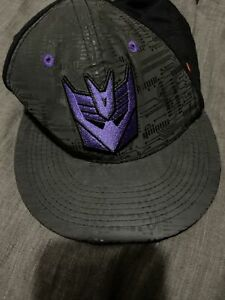 Nike Calvin Johnson Snapback Hat Glow in the Dark Decepticon Megatron Used Rare