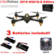 Hubsan X4 H501S Brushless 1080P FPV RC Quadcopter Headless Follow Me GPS Drone