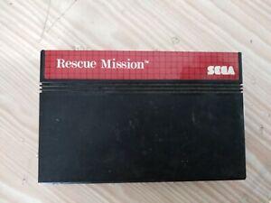 Sega master system Rescue mission perfettamente funzionante