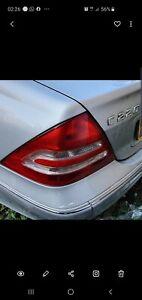 Mercedes C220 CDI Avantgarde SE 2003 Silver. Passenger Side Back Rear light.