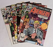 ESZ1754. THE AVENGERS #228-233 by Marvel 7.0 FN/VF (1983) RUN OF 6 EGGHEAD DEATH