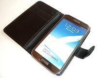 SA17 pour Galaxy Note 2 N7100 Cuir Synthétique Étui Compartiment Cartes de