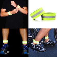 Brillante LED parpadea la luz de seguridad reflector arm wrist banda para Bici
