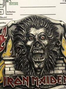 Iron Maiden Metal Belt Buckle