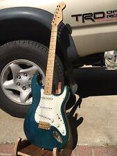 Fender Squier Pro Tone Guitar With Case 1997 Custom Shop Pickups Mik Korea Made