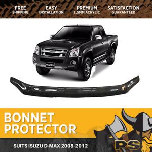 Bonnet Protector for Isuzu D-max Dmax 2008-2012 Tinted Guard 2009 2010 2011