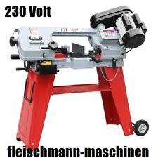 Holzmann Metallbandsäge Bügelsägen BS115 + Fahreinrichtung + Untergestell 230 V