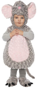 ADORABLE TODDLER BELLY BABIES MOUSE ANIMAL HALLOWEEN PLUSH COSTUME 2-4T UR25710