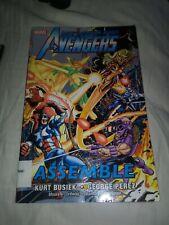 Marvel The Avenger Assemble Comic Book Kurt Busiek Gorge Perez limited edition