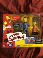 "Playmates Toys The Simpsons Series : ""HIGH SCHOOL PROM ""   -  2002  -"