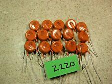 Lot Of 15 Cm 500pf 10kv 20 X5f Ceramic Disc Capacitor New