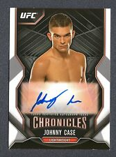 2015 Topps UFC Chronicles Autographs #CAJC Johnny Case UFC 009