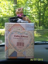 "Calico Kittens By Enesco ""My purr-suit of happiness led to you"""