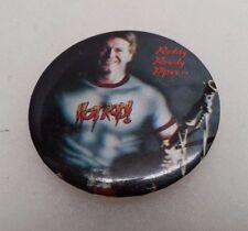 1985 Titan Sports Roddy Rowdy Piper Hot Rod Lapel Pin Button Rare