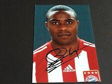 Edson braafheid in-person FC Bayer München signed Photo 10x15