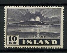 Iceland 1948 SG#286, 10k Mt. Hekla MNH #A60624