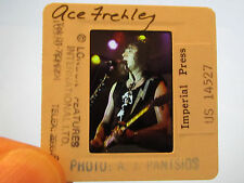 Original Press Promo Slide Negative - Ace Frehley - KISS - 1980's