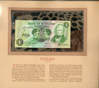 Most Treasured Banknotes Scotland 1 Pound 1983 P111f UNC Prefix D/47