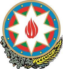 Aufkleber Aserbaidschan Wappen Autoaufkleber 18 x 20 cm Sticker Konturschnitt