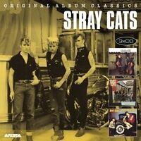 STRAY CATS - ORIGINAL ALBUM CLASSICS 3 CD NEUF