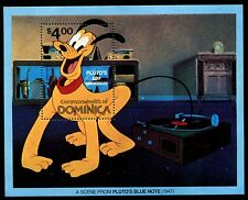 Dominica 695, Mnh, Disney characters - Pluto's 50th Ann, 1980. x10276