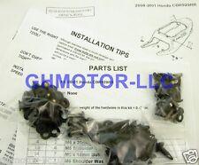 00 01 CBR929RR 929RR FLAT MATTE BLACK COMPLETE FAIRING BOLTS BOLT SCREWS KIT USA