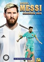 Lionel Messi Wall Calendar 2019 A3 Football Soccer Poster