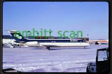 Original Slide, Southern Airways Douglas DC-9-31 (N89S) at Des Moines, 1975