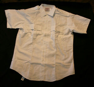 Men's Code 3 by Southeastern White Short Sleeve Shirt Police EMT Size 17