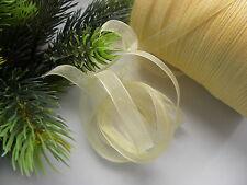 10m organza Geschenkband 10mm Schleifenband Hochzeit/Weihnachten/Schleifen/s0