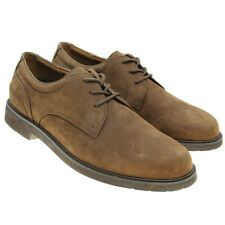 Rockport Mens Size 10.5 Brown Nubuck Leather Oxfords Casual Shoes