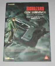 Biohazard Gun Survivor Libro Guía oficial japonés-Resident Evil Capcom PS1