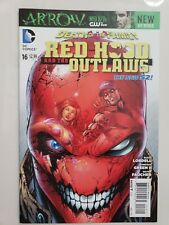 RED HOOD AND THE OUTLAWS #16 (2013) DC 52 JASON TODD! JOKER! DEATH OF THE FAMILY